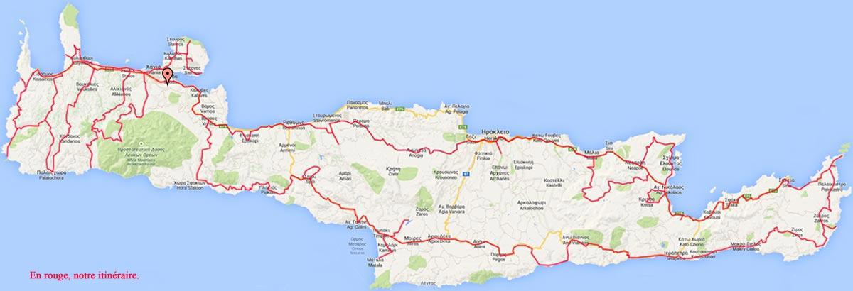 Carte Crete.Carte De Crete